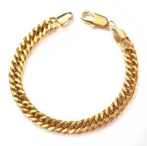 Złote bransoletki jako idealny prezent