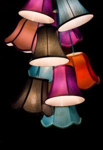 Lampa znanej marki wygrana na aukcji
