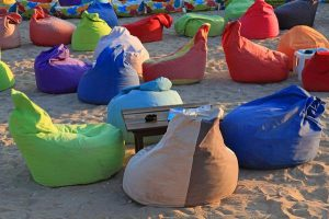 Worek sako na plażę